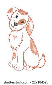 little funny dog