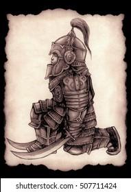 Little Mongolian warrior.