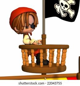 Three piratetoon
