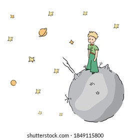 The little prince stars and planet