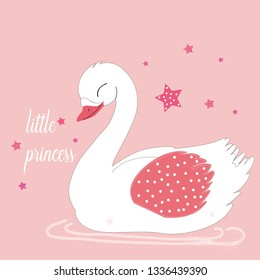 little princess slogan t shirt print design.sweet baby tee