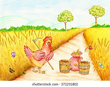 Little Red Hen HD Stock Images | Shutterstock