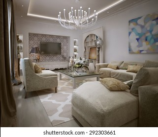 Salon Marocain Moderne Images, Stock Photos & Vectors ...