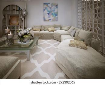 Arabic Living Room Images, Stock Photos & Vectors | Shutterstock