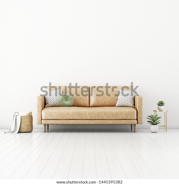 Magnificent Living Room Interior Wall Mockup Tan Royalty Free Stock Image Gmtry Best Dining Table And Chair Ideas Images Gmtryco