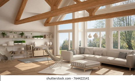 Wooden Roof Interior Hd Stock Images Shutterstock