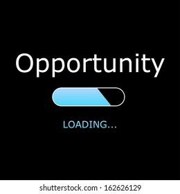LOADING Opportunity Illustration