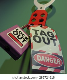 Lockout Tag out . Safety Measures used to secure equipment while under repair, inspection or out of service