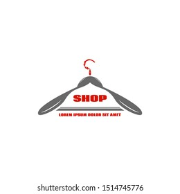 Logo gray coat hangers is a great way for your store to be original