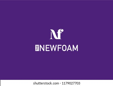 its a logo for new company named NF or similar to NF. its typographical logo