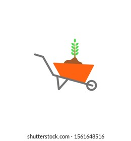 logo tool equipment for gardening, agriculture.