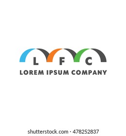 Logo for your lorem ipsum company. Creative concept color logotype food ad drink cafe, bar, fast eat.