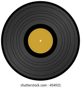 Long Play vinyl record