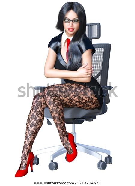 office sekretar strumpfhose
