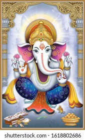 lord ganesha poster for wall