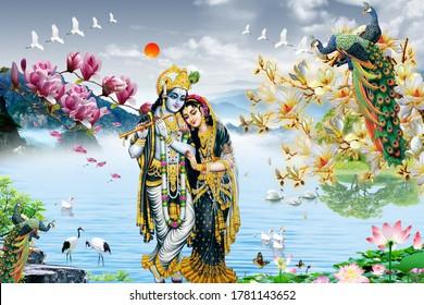 Lord Krishna Images Stock Photos Vectors Shutterstock