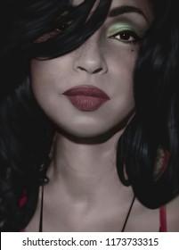 Los Angeles, California / USA - April 1, 1988: The beautiful Helen Folasade Adu was born Jan 1959, known professionally as Sade. Sade is an English Singer, Songwriter, and Actress. Record sales 23.5M