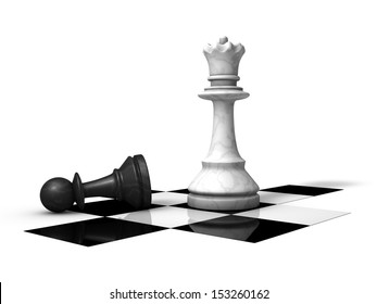 Lost chess piece