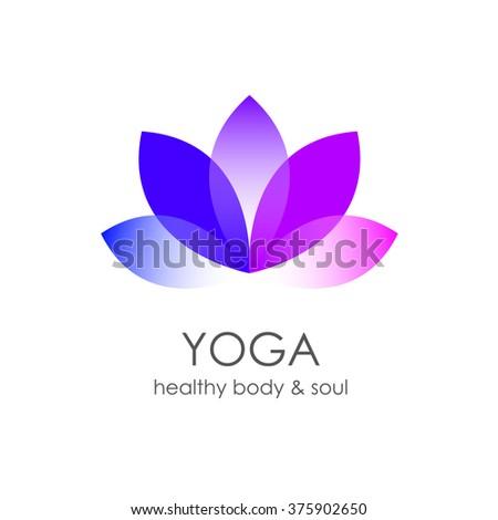 Royalty free stock illustration of lotus flower yoga symbol template lotus flower yoga symbol template logo design idea mightylinksfo