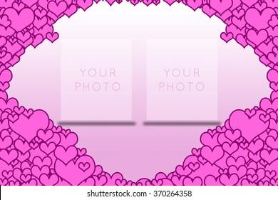 Love frame Valentine