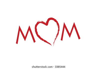 I love my mom happy mother's day card