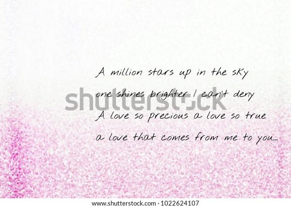 Ilustración De Stock Sobre Love Poetry Lyric Poem About Love