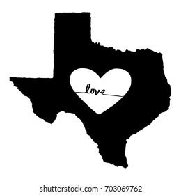 Love For Texas Graphic Design.
