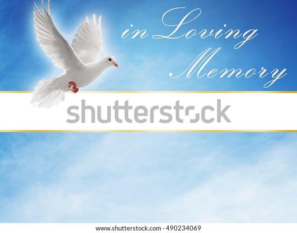 In Loving Memory Sky Background