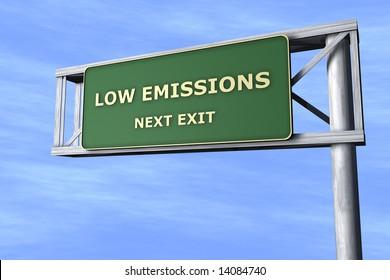 Low emissions - Next exit