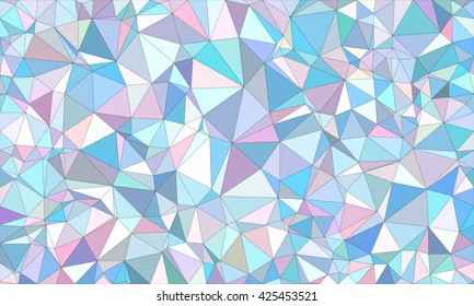 Low poly background design in geometric pattern. polygon wallpaper in origami style. polygonal texture illustration in color blue and violet and pink.