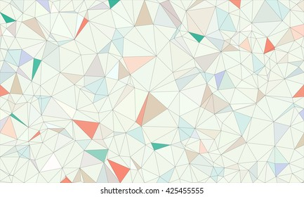 Low poly background design in geometric pattern. polygon wallpaper in origami style. polygonal texture illustration in color pink and blue and green.