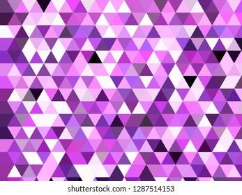 Low poly style modern geometric art triangular polygon colorful background design