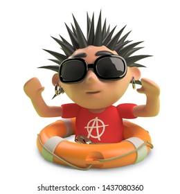 Spiky Hair Cartoon Images Stock Photos Vectors Shutterstock