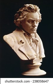 Ludwig van Beethoven (1770-1827), German classical composer, ca 1810s.