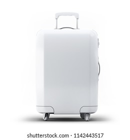 Luggage Suitcase Mock-up 3D illustration