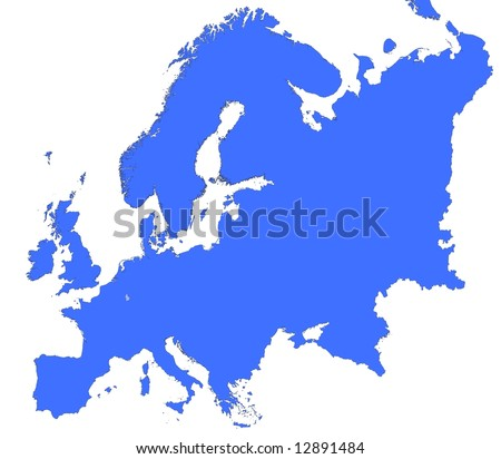Luxembourg Location Europe Map Mercator Projection Stock