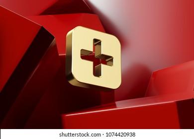 3d Plus Symbol Images Stock Photos Vectors Shutterstock