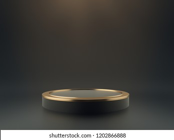 Luxury Product Stand. 3D Rendering