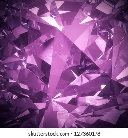 Luxury purple diamond background