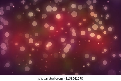 Luxury red  bokeh  blur abstract background with lights for background and wallpaper Christmas,vintage.