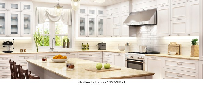 Country Kitchen Table Images, Stock Photos & Vectors ...