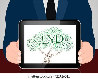 Lyd Currency Meaning Libyan Dinar And Market