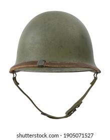 M1 Combat Helmet 3D illustration on white background