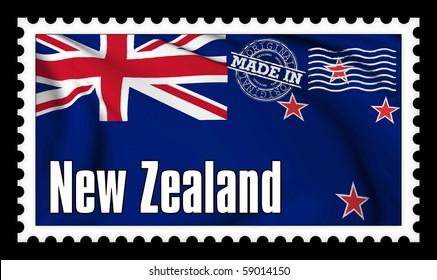 Made in New Zealand original stamp