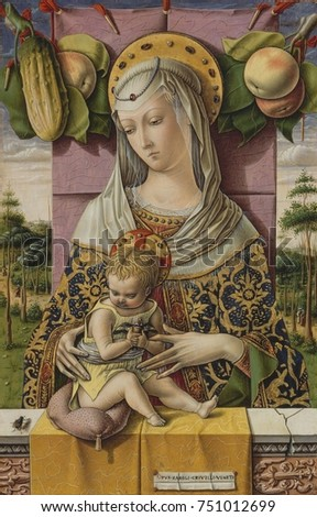 MADONNA AND CHILD by