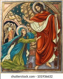 Magdalena and Jesus Resurrection