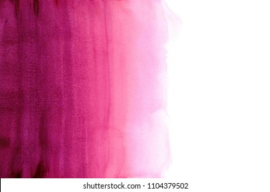 Magenta dip dye background