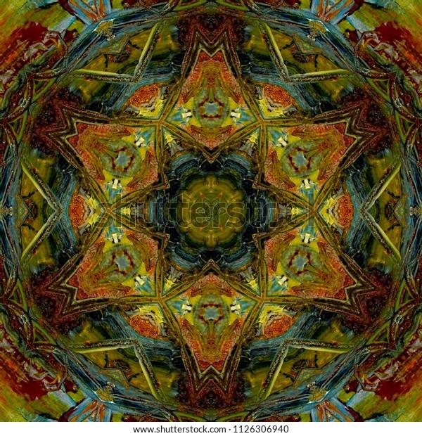 Abstract Art Mandala