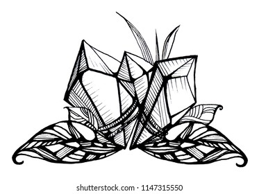 Magical art crystal