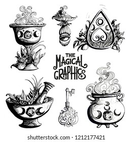 The Magical graphics set